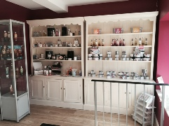 Many products available to purchase at Little luxuries